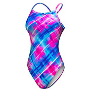 TYR Baja Plaid Diamond Fit Swimsuit