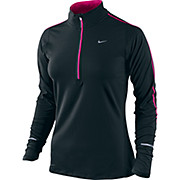 Nike Element 1-2 Zip Womens LS Top AW13