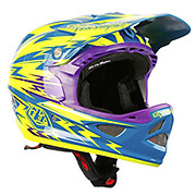 Troy Lee Designs D3 Composite Thunder Turquoise - Yellow 2014