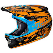 Troy Lee Designs D3 Carbon - Thunder Orange 2014