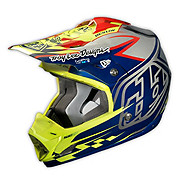 Troy Lee Designs SE3 Helmet - Team Chrome