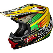Troy Lee Designs Air Helmet - P-51 Yellow