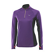 Mizuno Womens Breath Thermo 1-2 Zip Top AW13