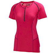 Helly Hansen Womens Pace 1-2 Zip SS Top II