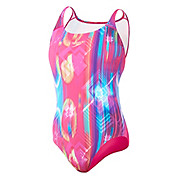 Speedo Allover Digital Leaderback Swimsuit SS14