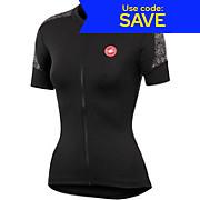 Castelli Scarabocchio Womens Full Zip Jersey SS14