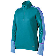 Brooks Womens Essential LS 1-2 Zip Top