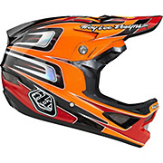 Troy Lee Designs D3 Carbon - Speed Orange 2014