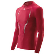 Skins A100 Long Sleeve Top - Red