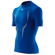 Skins A100 Short Sleeve Top - Royal Blue