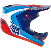 Troy Lee Designs D3 Helmet - Mirage Blue 2013