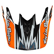 Troy Lee Designs D3 Zap Orange Visor
