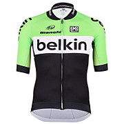 Santini Belkin Team Full Zip Jersey  2014