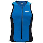 Zoot Mens Performance Full Zip Tri Tank Top 2014