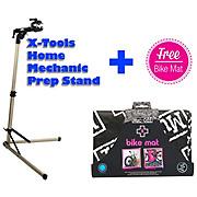 X-Tools Home Mechanic Prep Stand + FREE Bike Mat
