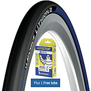 Michelin Lithion 2 Tyre Blue + FREE Tube