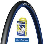 Michelin Pro4 Service Course Blue + FREE Tube