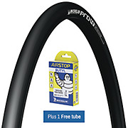 Michelin Pro4 Service Course Black + FREE Tube