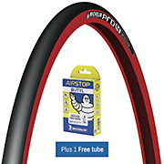Michelin Pro4 Service Course Red + FREE Tube