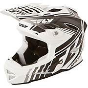 Fly Racing Default Helmet - Matt White - Black 2015