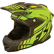Fly Racing Default Youth Helmet - Neon Yellow Black 2015