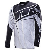 JT Racing Flex Jersey - Black-White 2014