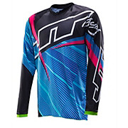 JT Racing Flex Jersey - Black-Blue-Pink 2014