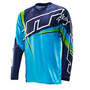 JT Racing Flex Jersey - Blue-Green 2014