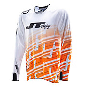 JT Racing Hyper Lite Echo Jersey - White-Orange 2014