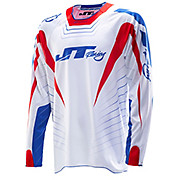 JT Racing Hyper Lite Razor Jersey - Red-White-Blue 2014