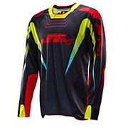 JT Racing Hyper Lite Razor Jersey - Black-Red-Char 2014