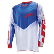 JT Racing Evolve Protek V Jersey - Red-White-Blue 2014