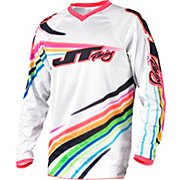 JT Racing Flow Flex Jersey - White 2015