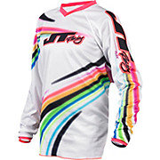 JT Racing Flow Youth Jersey - White 2015