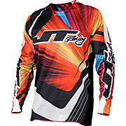 JT Racing Magneto Hyperlite Jersey - Black-Orange 2015