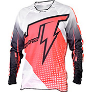JT Racing Voltage Hyperlite Jersey - Red-White 2015
