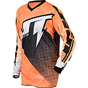 JT Racing Voltage Youth Jersey - Black-Orange 2015