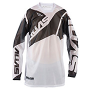 Alias A2 Vented Jersey - Black-White 2015