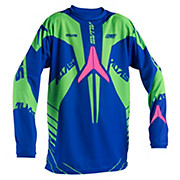 Alias A2 Youth Jersey - Blue-Neon Green 2015