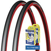 Michelin Pro4 Service Course Red + FREE Tubes