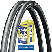 Michelin Pro4 Grip Road Tyres + FREE Tubes