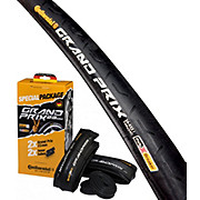Continental Grand Prix Tyres + Tubes - Pair