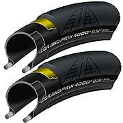 Continental Grand Prix 4000S II Road Tyre - 25c PAIR
