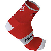 Castelli Rosso Corsa 6 Sock AW15