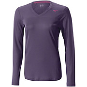 Mizuno Womens Breath Thermo Vneck Top AW14