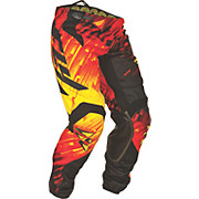 Fly Racing Kinetic Glitch Pant - Red-Black-Yellow 2015