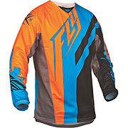 Fly Racing Kinetic Division Jersey - Blk-Bl-Org 2015