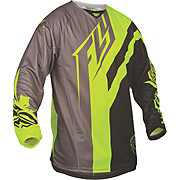 Fly Racing Kinetic Division Jersey - Blk-Gry-Hi-Vis 2015