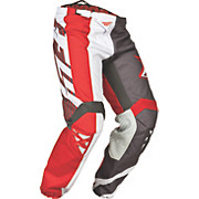Fly Racing Kinetic Division Pants - Rd-Gry-Wht 2015