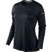 Nike Womens Miler LS Running Top SS15